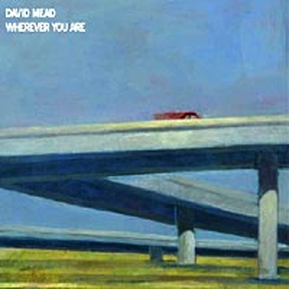 Cover for the David Mead CD 'Wherever You Are'