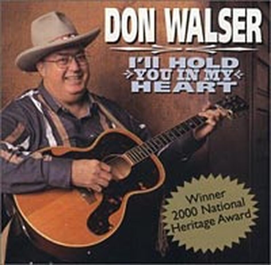 Cover for Don Walser CD 'I'll Hold You in My Heart'