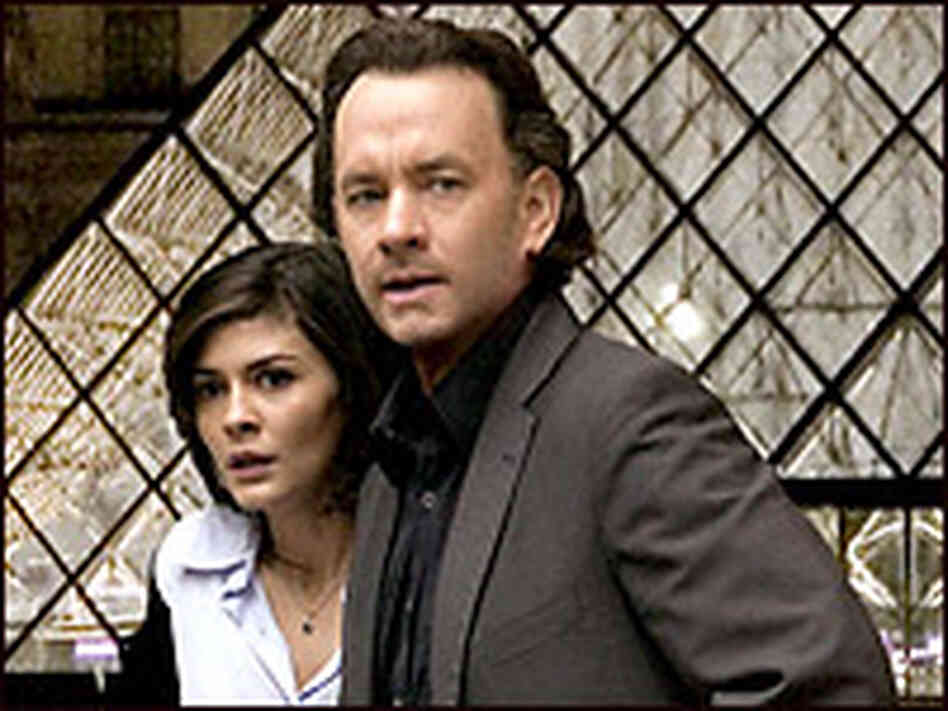 Audrey Tautou and Tom Hanks. Credit: Columbia Pictures.