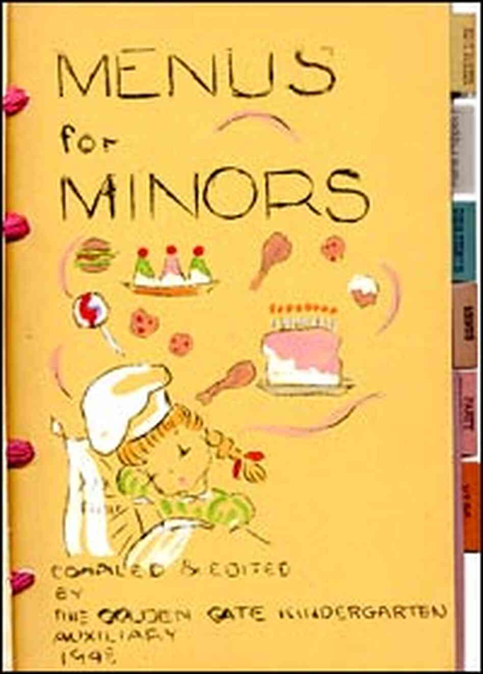 'Menus for Minors' cookbook