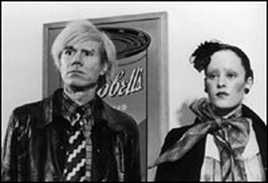 Andy Warhol and Jane Forth