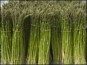 Dark green vegetables like asparagus are a better source of folate than synthetic folic acid tablets