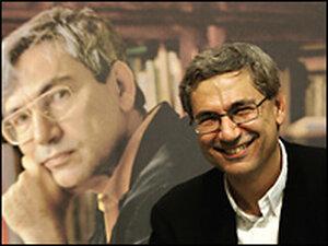 Turkish novellist Orhan Pamuk in 2005. Credit: TORSTEN SILZ/AFP/Getty Images.