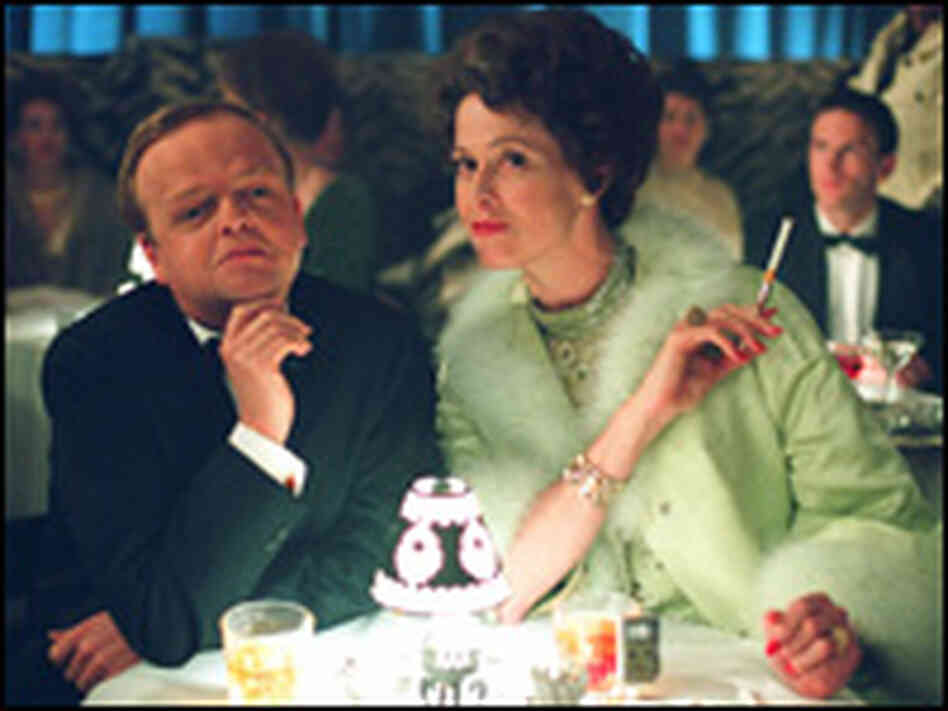 Toby Jones and Sigourney Weaver. Credit: Warner Bros. Entertainment.