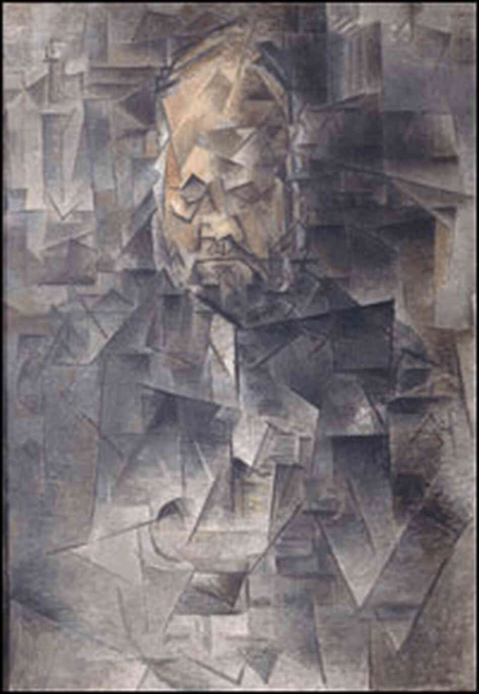 'Ambroise Vollard' by Picasso.