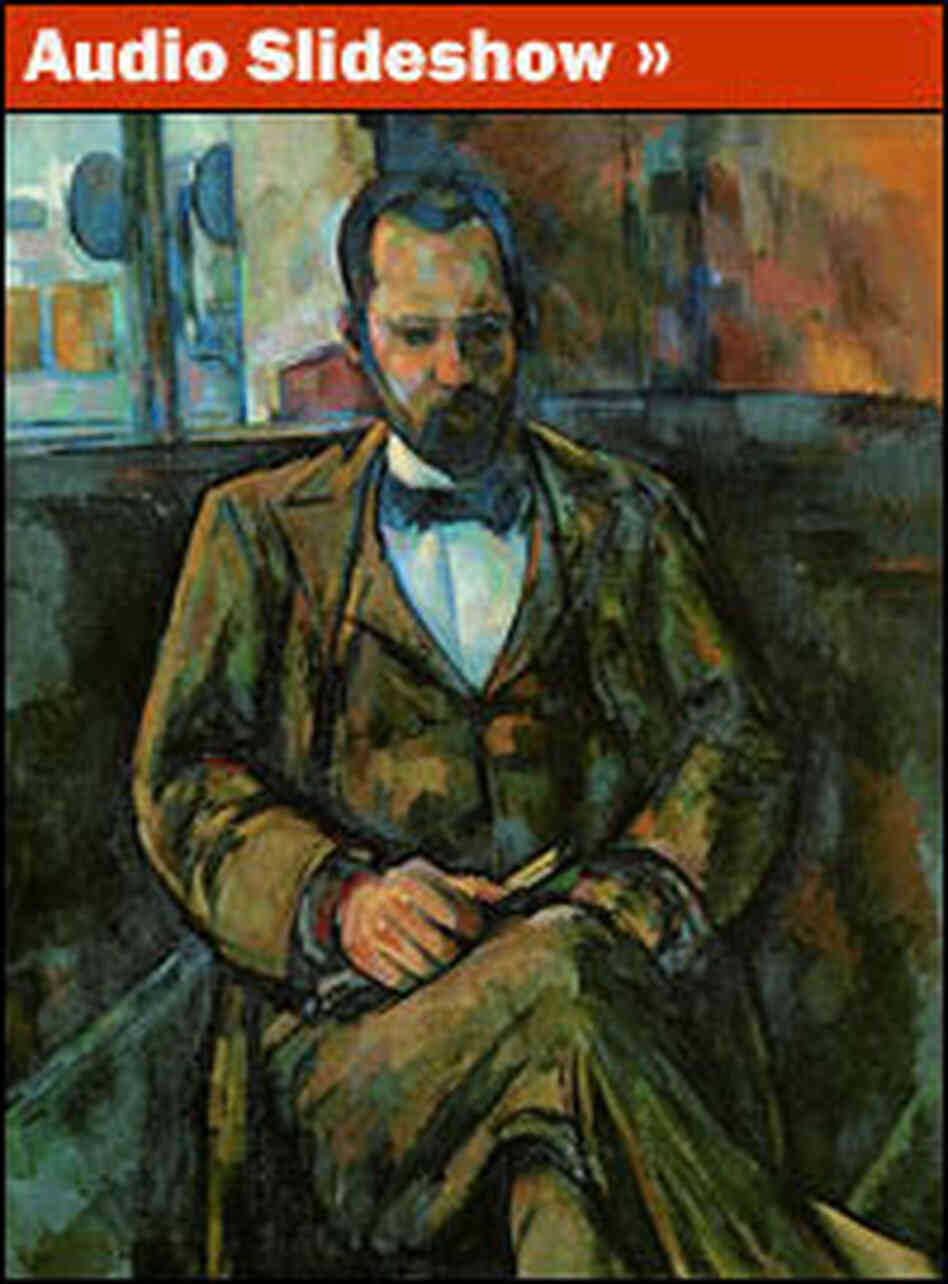 'Ambroise Vollard' by Paul Cezanne.