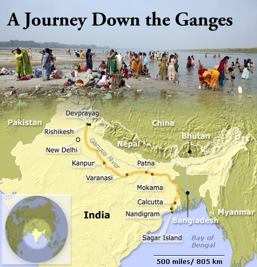 ganges river pollution chart - photo #30