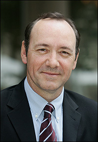 Kevin Spacey, photographed in June 2006 at an event for his film <em>Superman Returns</em>.