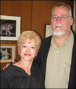 Michael Connelly and Judge Judy Champagne
