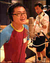 Coco Zhao and Peng Fei perform in Studio 4A.