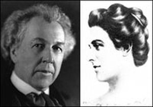 Frank Lloyd Wright and Mamah Borthwick Cheney