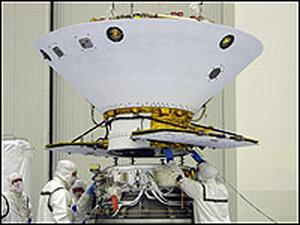 The Phoenix spacecraft.