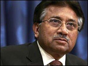 Pakistan President Gen. Pervez Musharraf