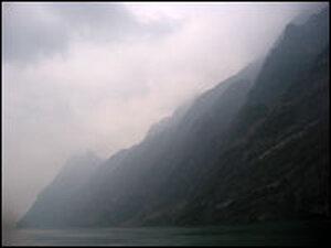 Rain clouds shroud Wuxia