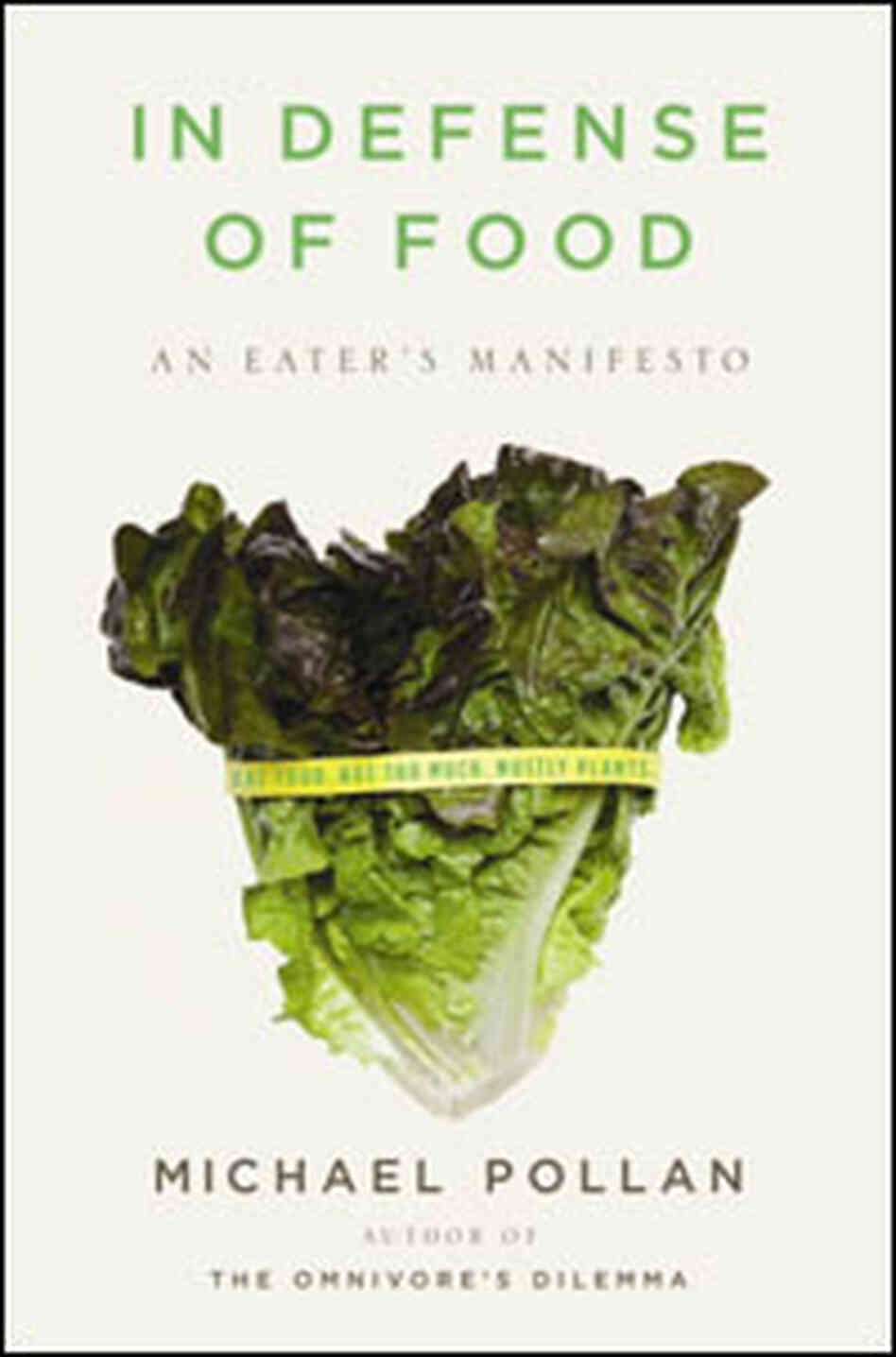 'In Defense of Food' Cover