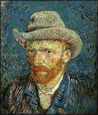 Vincent Van Gogh, in his 'Self-Portrait with Felt Hat' (1887-88).
