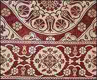 16th Century Velvet Fragment