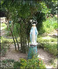 A garden at the Mai Hoa AIDS Center.