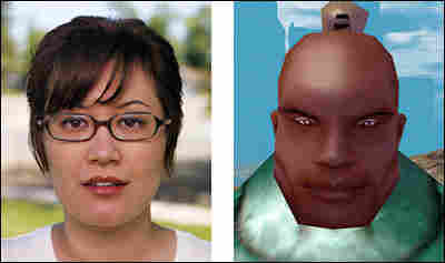 Becky Glasure and Stygion Physic, her online personae.