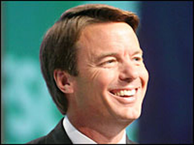 Democratic presidential candidate John Edwards has made poverty a central issue of his campaign.