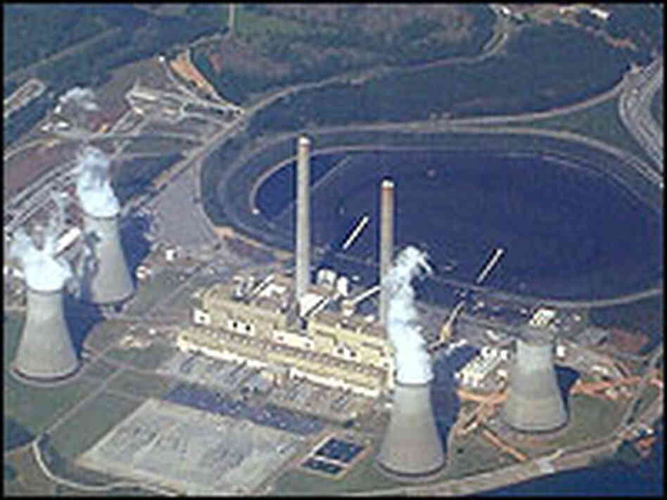 Robert W. Scherer Power Plant near Macon, Ga.
