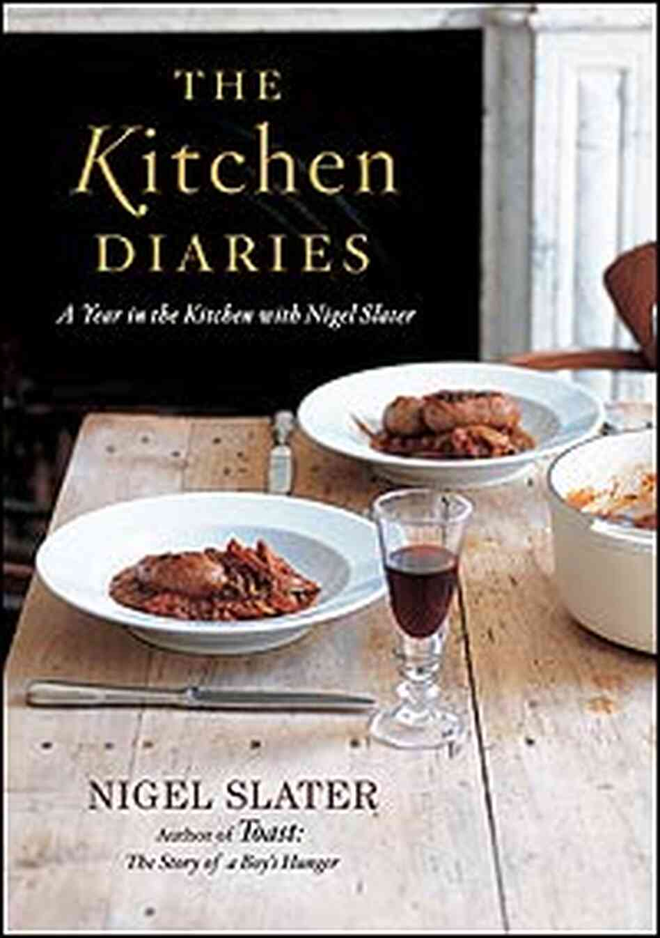 Cover Image: 'The Kitchen Diaries'