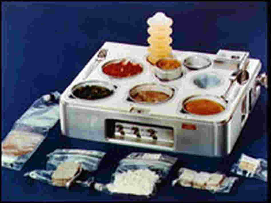 A Skylab food tray