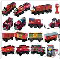 Thomas the Tank Engine toys affected by the recall.