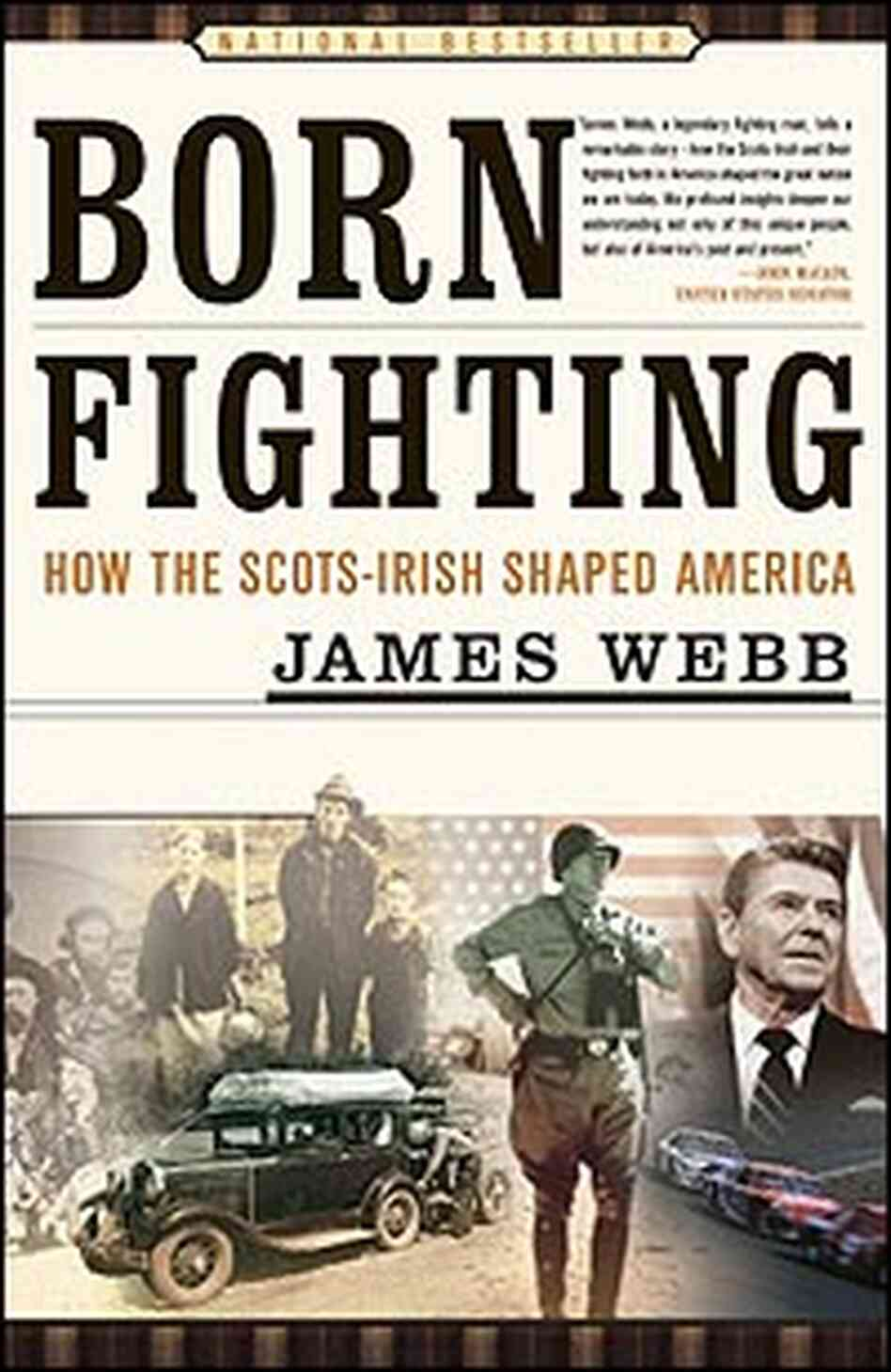 Book Cover:  'Born Fighting'