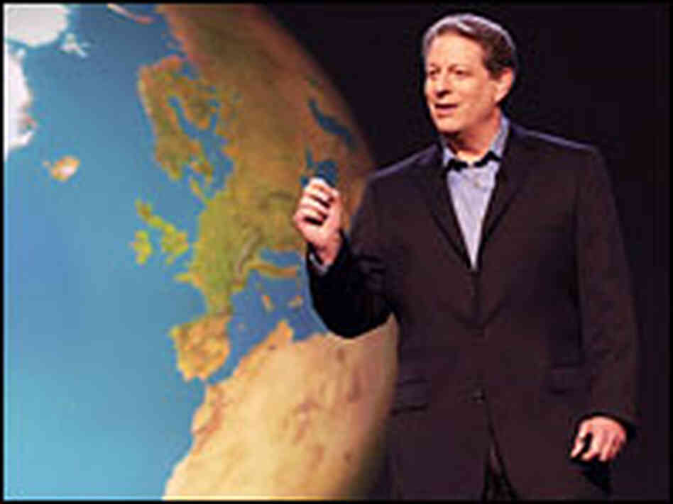 Al Gore in 'An Inconvenient Truth.'