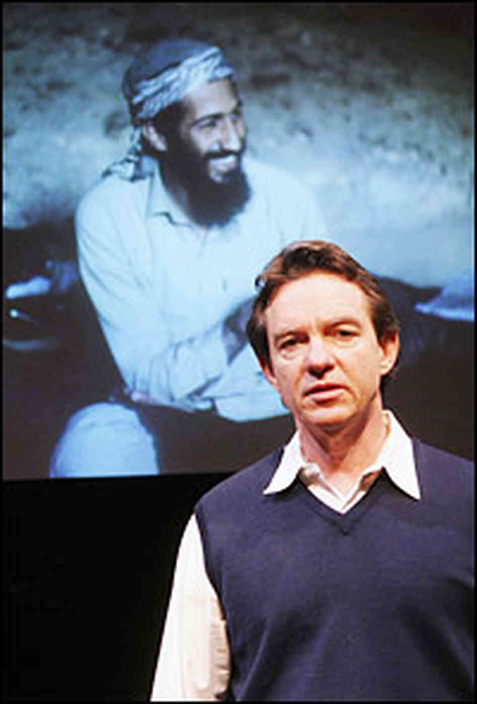 Lawrence Wright's one-man play 'My Trip to Al-Qaeda' chronicles his quest to understand the group