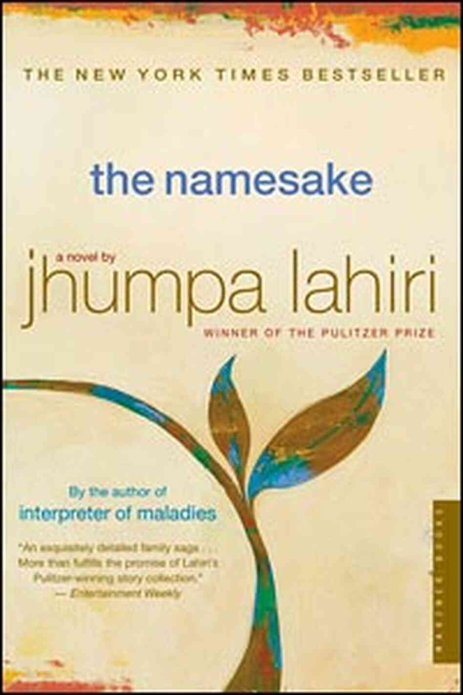 'The Namesake' by Jhumpa Lahiri