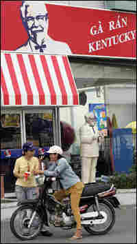 KFC is one of the multinational chains that have set up shop in Vietnam.