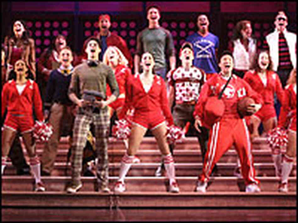 Ensemble cast from 'High School Musical'