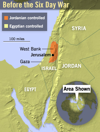 Six Day War Shaping The Modern Middle East