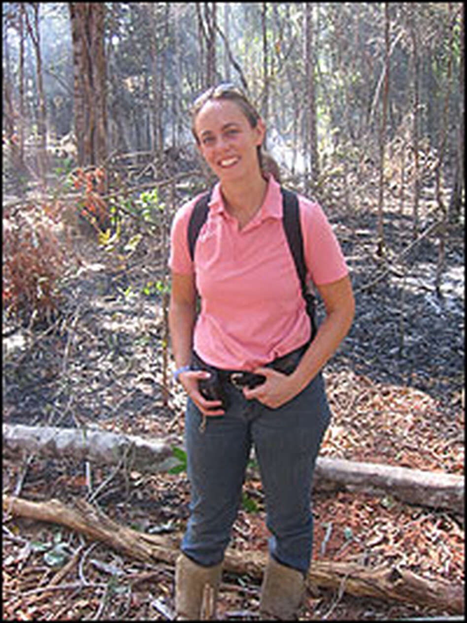 Jennifer Balch of Yale University admits fire can't be eliminated from the Amazon; farmers need it to survive. But her team is trying to figure out how to keep fire from spreading into the protected forests.