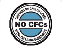 the products are CFC-free