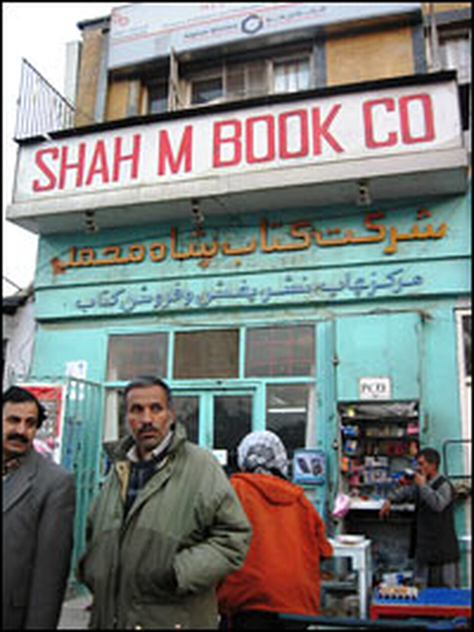 This rickety shop at one of Kabul's busiest intersections is one of the richest repositories of books in Afghanistan.