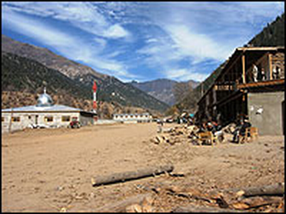 Nuristan's new provincial capital, Parun, is being built from the ground up.