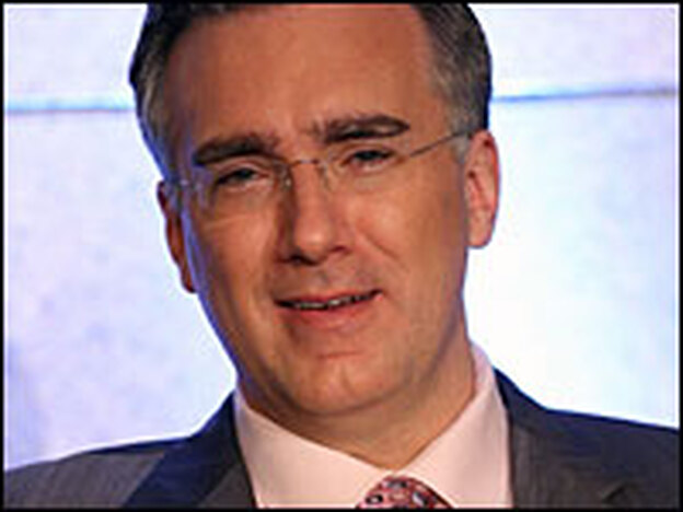 Not by the numbers: Keith Olbermann isn't your ordinary news anchor.