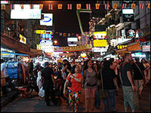 Bangkok's Kao Sarn Road