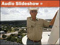 Audio Slideshow: Texas Windfarmer