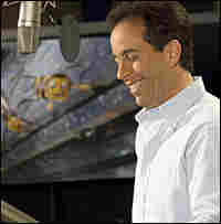 Jerry Seinfeld voicing 'Bee Movie'