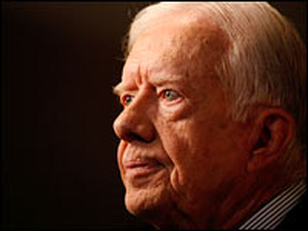 Former President Jimmy Carter's new book is about his life after the presidency.