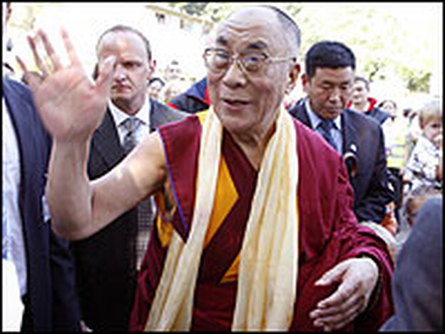 The Dalai Lama is set to receive the Congressional Gold Medal of Honor on Wednesday.  Critical of the Dalai Lama, the Chinese government has protested the award.