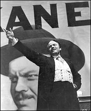 Orson Welles in 'Citizen Kane'