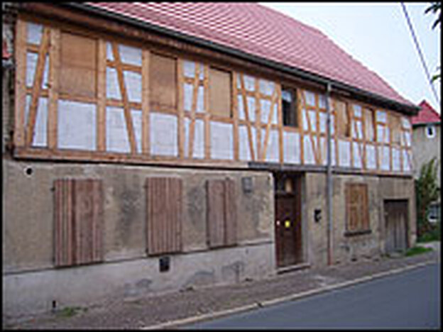 "This far-right center in Jena, Germany, is known locally as the ""Brown House"" – the same name Hitler's Nazi Party headquarters in Munich had."