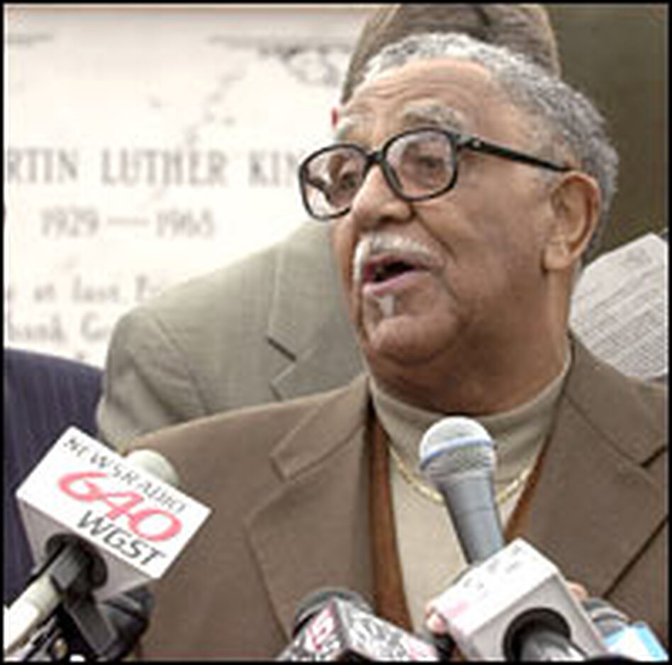 Seen a 2003 photo, the Rev. Joseph Lowery, a key civil rights leader, calls the ministers who issued the manifesto bold and courageous.