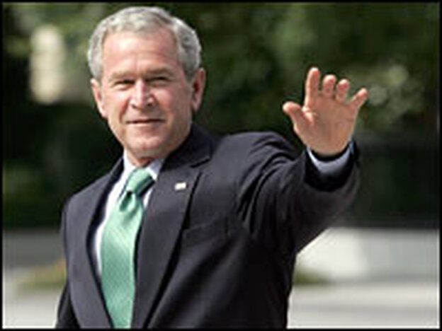 President Bush's job approval rating is 38 percent in a new NPR poll.