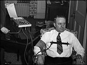 Demonstration of Keeler's Lie Detector Test